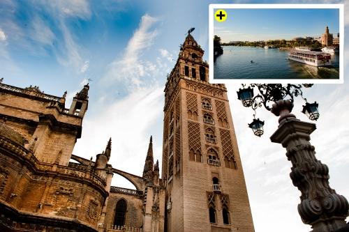 Tours privados Sevilla Majestuosa + Crucero